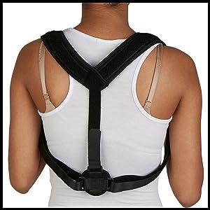 posture corrector under clothes for women men perfect posture corrector blue bear posture corrector