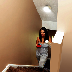 motion sensor light for stairs