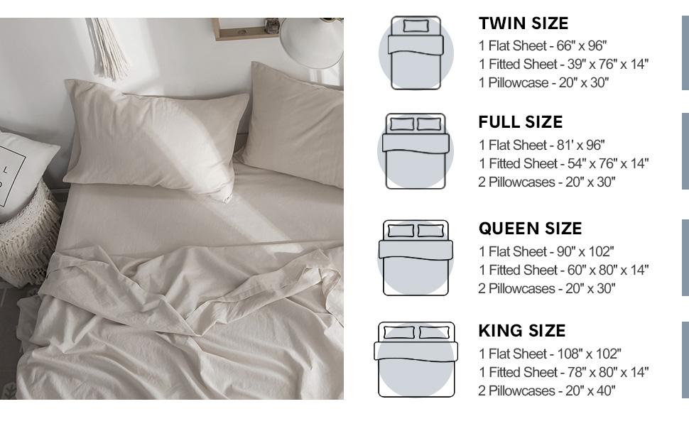 sheet set size