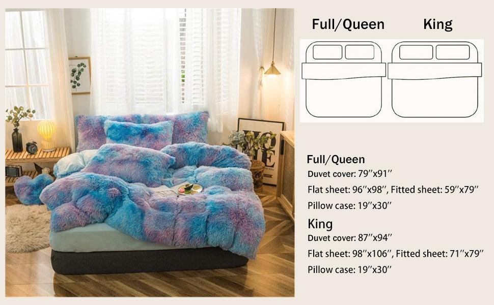 comforter velvet shaggy duvet covers luxury duvet set