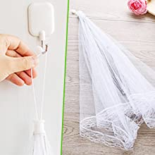 collapsible food net cover