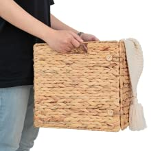 wooden baskets for storage