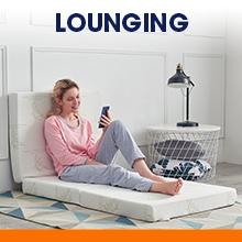 lounging tri-fold mattress