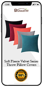 Soft Fleece Velvet Pillow Covers