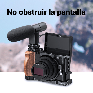 SMALLRIG Cage Jaula para Cámaras Sony RX100 VII y RX100 Vi: Amazon ...