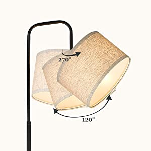 Adjustable Lamp Shade