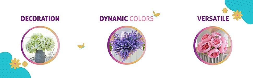 flowers, decoration, hydrangea, lavender, peony