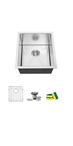 15'' kitchen sink