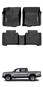 Toyota Tacoma Double Cab Mats Liners