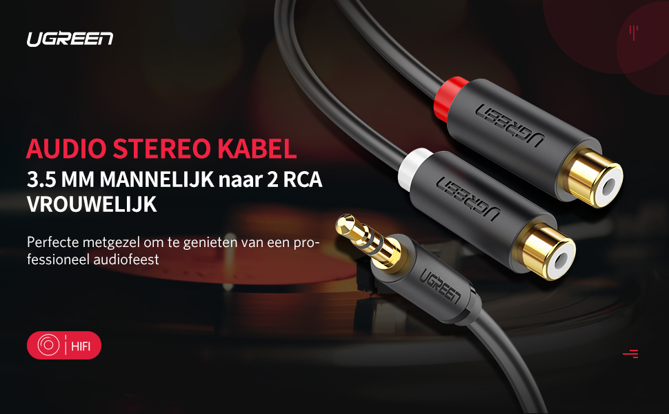 AUDIO STEREO KABEL