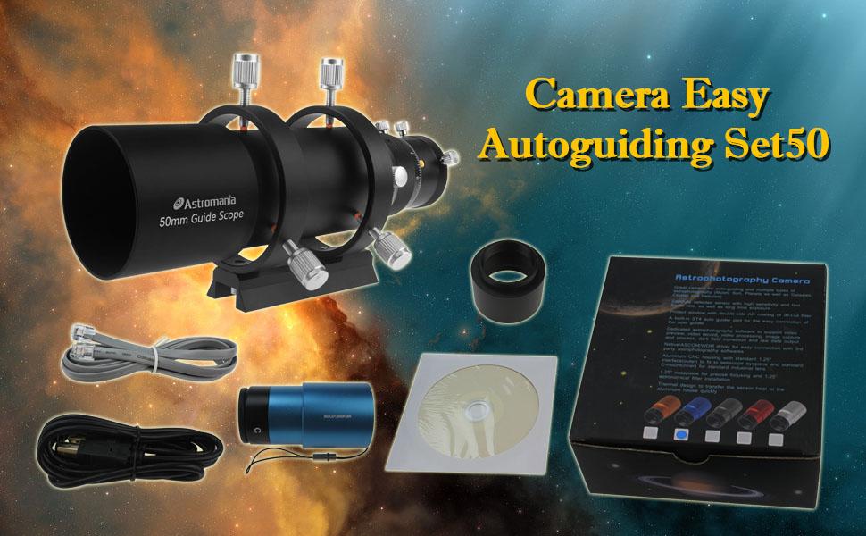 The Key to Successful Planetary Photos Astromania Camera Easy Autoguiding Set60