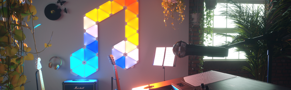 Nanoleaf Light Panels Rhythm