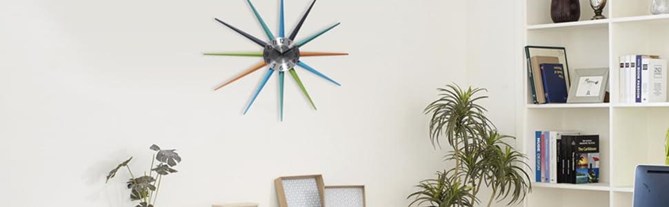 Amazon.com: Infinity Instruments Stellar Starburst Clock
