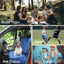 Car Seat Cover for dogs cats human kids travel sports vet check park time