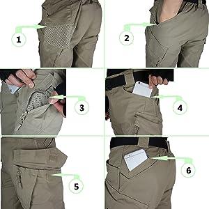 Multi-pocket design