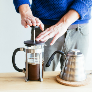french press manual coffee grinder