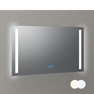 Warmweiß und kaltweiß inklusive doppeltem Touch Sensor auf dem Spiegel als Variante erhältlich
