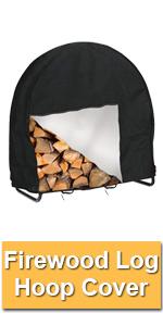 Firewood log cover