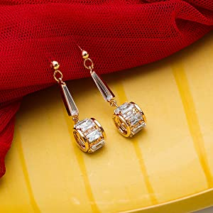 Latest American Diamond Earring