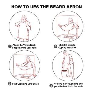 Delantal de barba