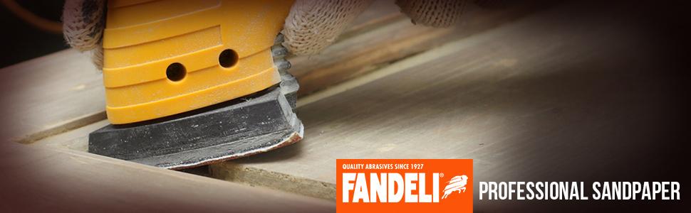 FANDELI PROFESSIONAL SANDPAPER