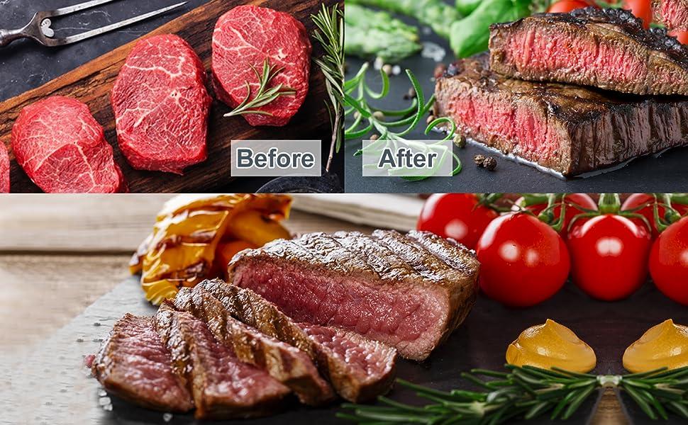 steak soft meat injector flavor