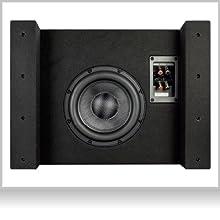 EBR-M8DX: Woofer nach Downfire Prinzip montiert für kraftvollen Bass