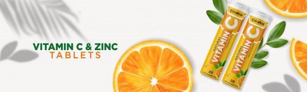 Nutrafirst Electrify Vitamin C & Zinc Tablets
