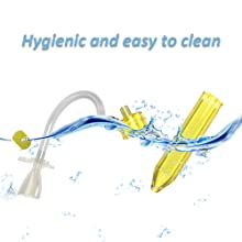 Nasal aspirator hygienic easy to clean congestion vacuum cleaner