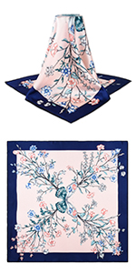 """35"""" 14 Timmy Real Silk Square Scarf"""