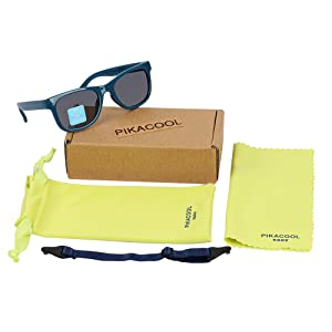 pikacool baby 0 3 6 9 12 18 24 months 1 2 years old navigator girls accessories glasses gift set TPE