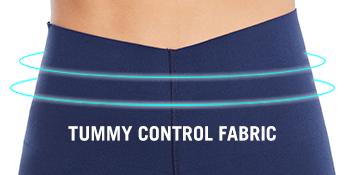 tummy control fabric