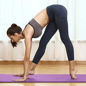 Dans diff/érentes couleurs Tapis de yoga Rexoo Pilates Pour fitness gymnastique sport