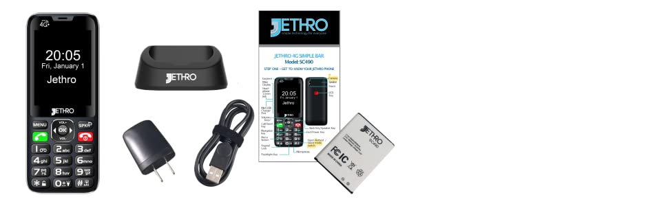 What's in the box unboxing for Jethro Model SC490