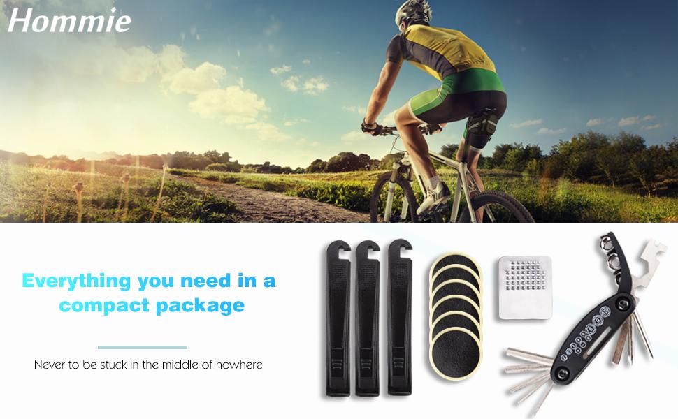 2 PACKS GLOBAL BRANDS BICYCLE REPAIR SET