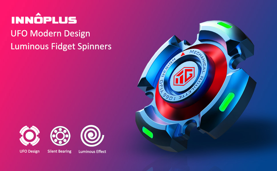 INNÔPLUS Luminous Fidget Spinners