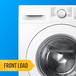front, load, washing, machine, cleaner
