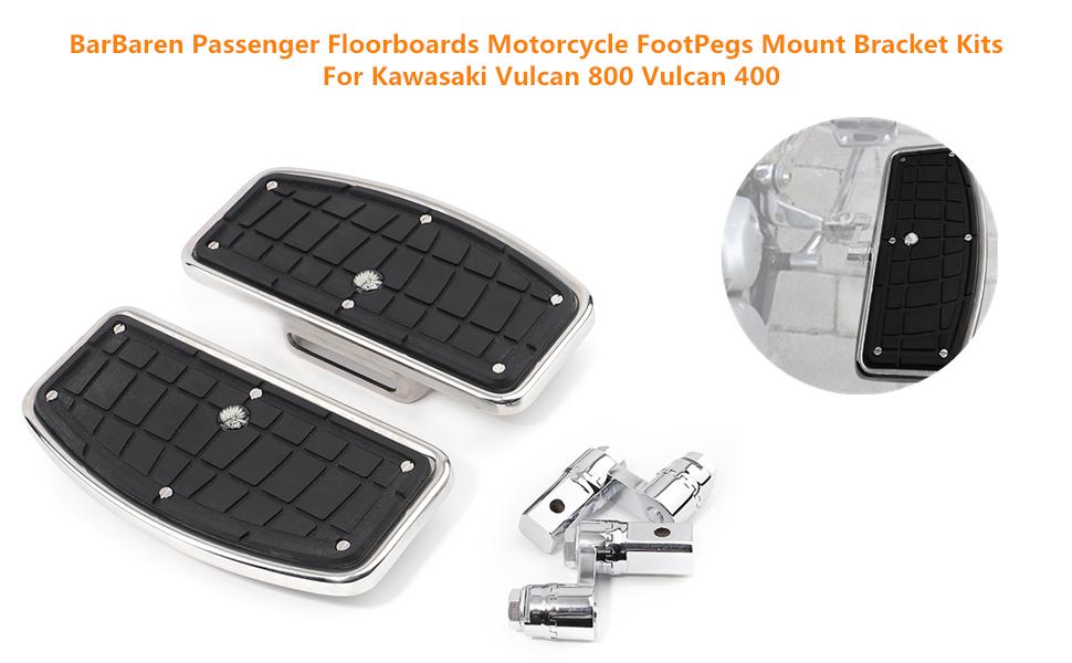 Passenger Honda MAGNA Floor boards Yamaha VSTAR Floor boards Motorcycle FootPegs