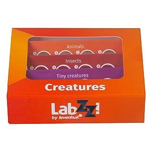 Levenhuk LabZZ C12 Creatures Prepared Slides Set