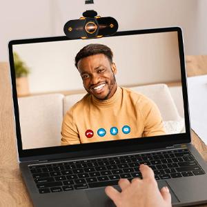 webcam  (2021 Nuevo modelo)Cheelom Video Cámara Web1080P Trípode Full HD USB,Webcam de Conferencia USB Ajustable con Micrófono Incoprado Computadora Portátil Cámara para OBS Xbox XSplit Skype Facebook Compatible con Mac OS Windows 10/8/7 573bb3d9 032d 417d b1d6 79d9b37d59d2