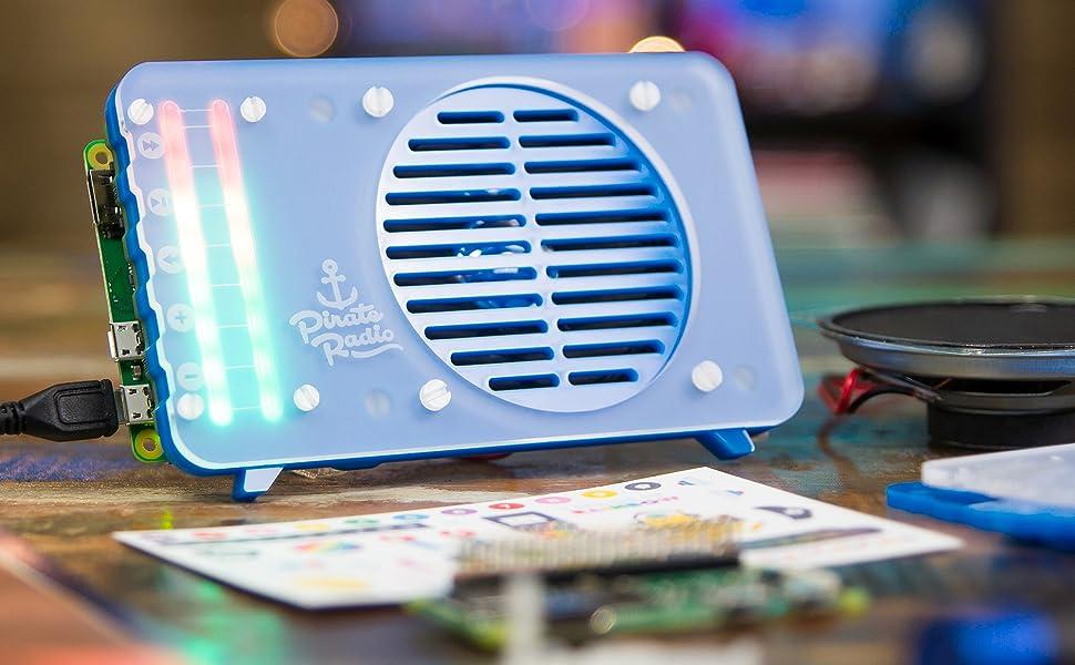 Pimoroni Raspberry Pi ZERO W progetto KIT-Scroll bot