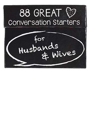 Christian Art Gifts 88 Great Conversation Starters for Husbands & Wives, Boxed Cards
