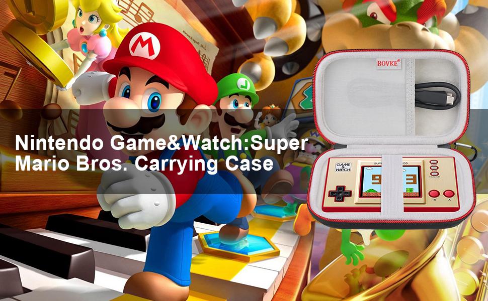 Storage Case For Nintendo Game&Watch:Super Mario Bros