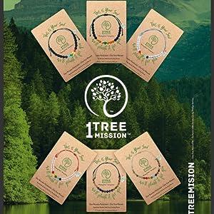 1 bracelet = 1 tree planted