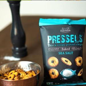 pretzel salt;flat pretzels;Vegan Pretzel;Chip snacks;pretzel chips;pretzel thins;Baked chips;crisps;