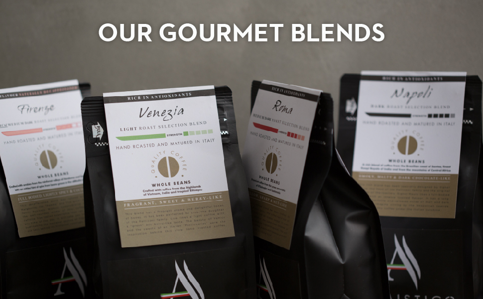 our gourmet blends