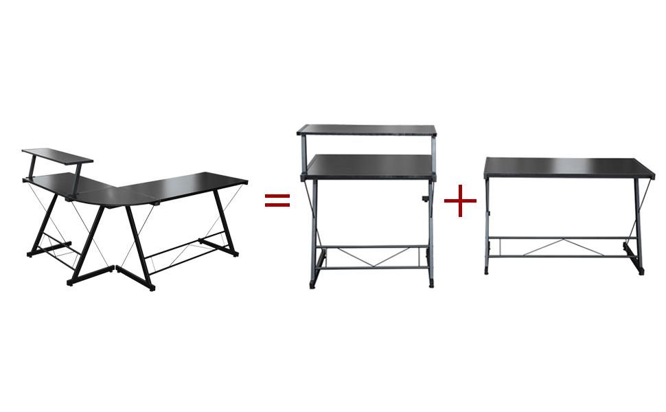 l shaped office desk l shaped desk gaming