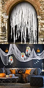 Hanging Ghost Scary Zombie Decoration Indoor Outdoor for Haunted House YSBER 7ft Halloween Props Scary Halloween Ghost Decorations