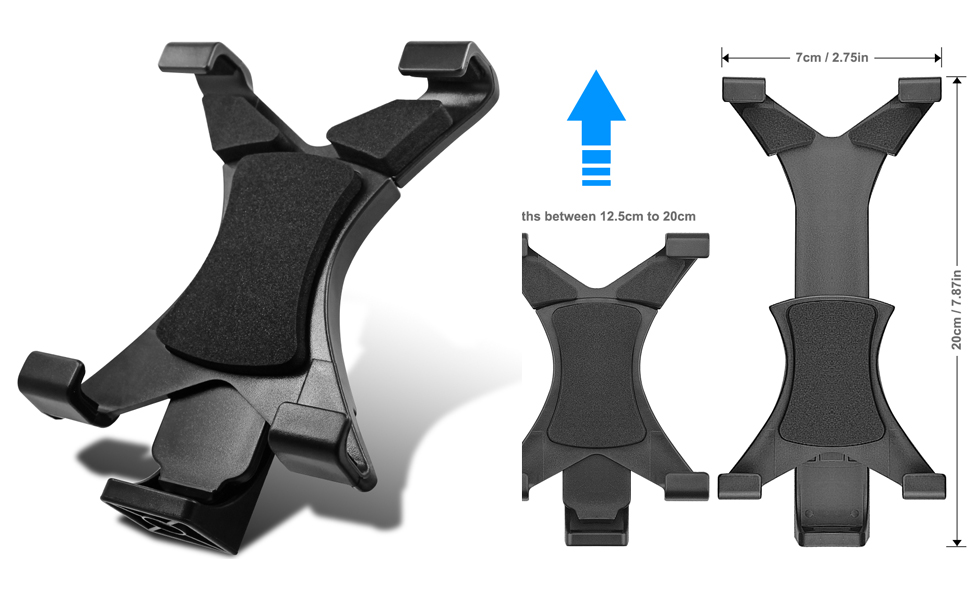 Universal Tablet Tripod Mount Adapter Clamp Holder