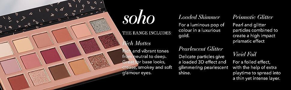 Pippa of London  Soho Eyeshadow palette
